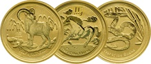 Best Value - Perth Mint Lunar 1/4 Quarter Ounce Gold Coin