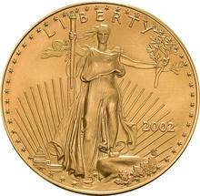 2002 1oz American Eagle Gold Coin