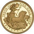 2009 Tenth Ounce Proof Britannia Gold Coin