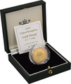 1997 £2 Two Pound Proof Gold Coin: Technologies Boxed