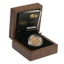 Gold Proof 2014 £1 One Pound Scotland Floral Boxed