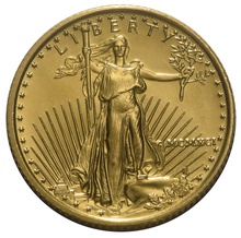 1991 Tenth Ounce Eagle Gold Coin MCMXCI