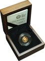 2009 Quarter Sovereign Gold Proof Coin Boxed