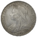1893 LVII Queen Victoria Silver Crown.