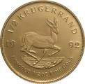 1992 Proof Half Ounce Krugerrand Gold Coin