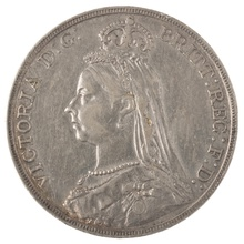 1891 Victoria Jubilee Head Crown - Very Fine