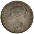 1840 Queen Victoria Silver Halfcrown