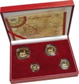 Krugerrand 2005 4-Coin Gold proof Set Boxed