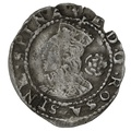 1573 Elizabeth I Silver Three Farthings - mm Acorn