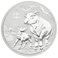 2021 1/2oz Perth Mint Year of the Ox Silver Coin