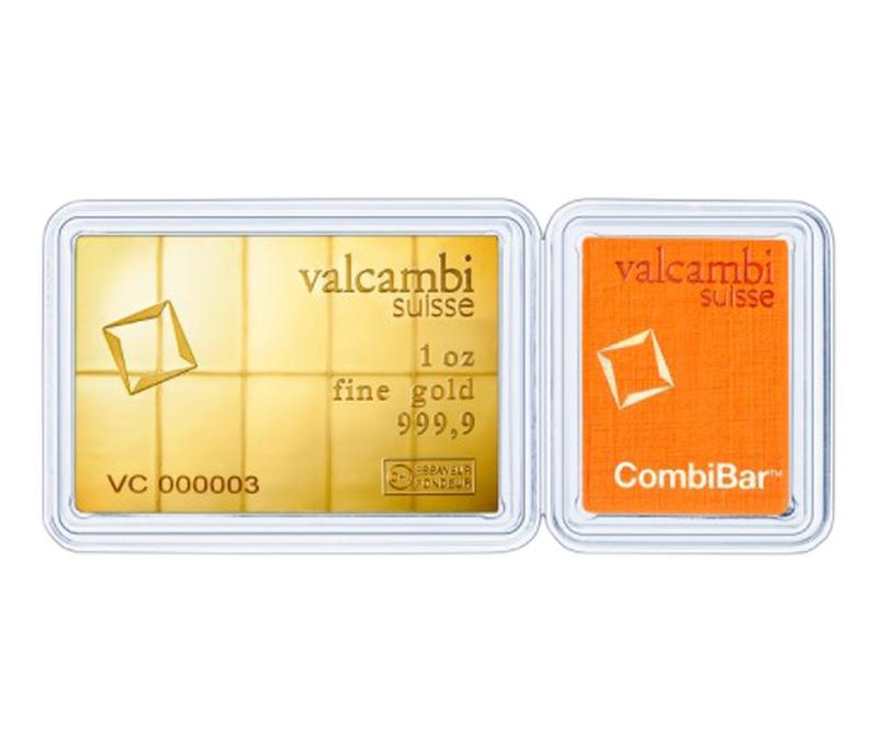 Valcambi CombiBar 10 x 1/10 Ounce Gold Bar