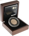 Gold Proof 2013 Fifty Pence Piece - Christopher Ironside Boxed