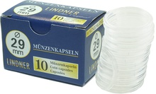 Lindner 29mm Coin Capsules (10 Box)