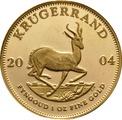 2004 1oz Proof Krugerrand Signed Gold Coin