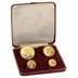 1973 Isle of Man Gold Proof Sovereign Four Coin Set Boxed