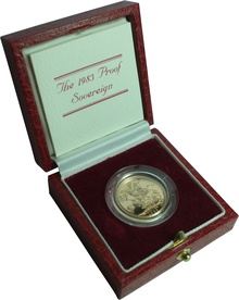 Gold Proof 1983 Sovereign Boxed