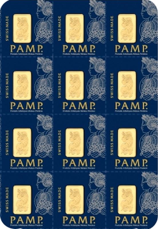 PAMP 12g Multigram Gold Bar (Minted)