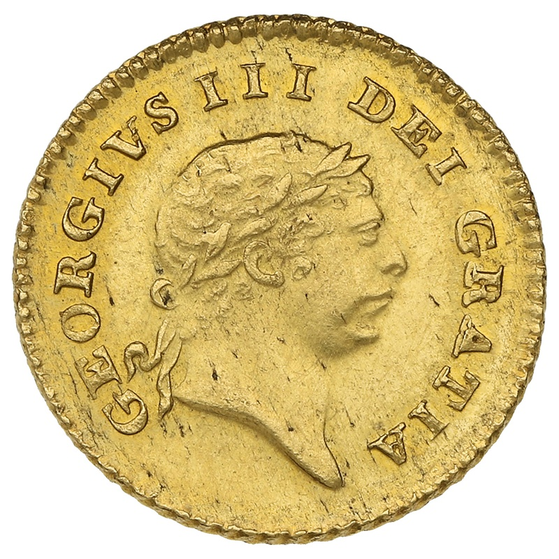 1809 George III Third Guinea Gold Coin