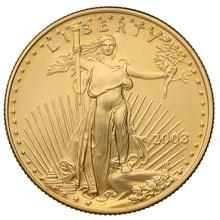 2003 Half Ounce Eagle Gold Coin