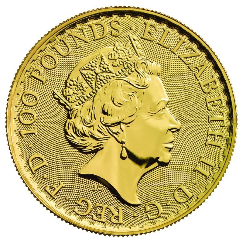 2017 1oz Gold Britannia 30th Anniversary Coin