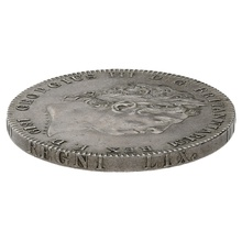 1819 LIX George III Silver Milled Crown