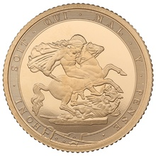 2017 Gold Half Sovereign Elizabeth II Fifth Head Proof
