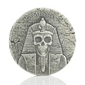 2017 Pharaoh Ramesses II - After Life - 2oz Silver Coin Boxed