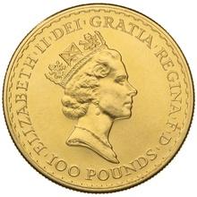 1991 Gold Britannia One Ounce Coin
