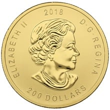 2018 1oz Canadian Golden Eagle Gold Coin