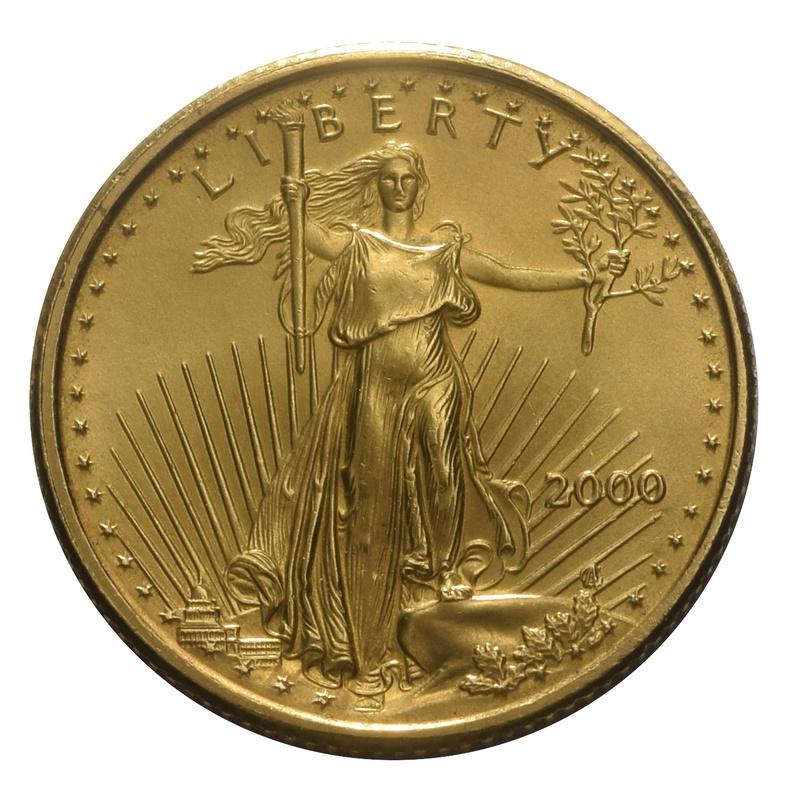 2000 Tenth Ounce Eagle Gold Coin