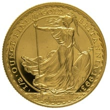 1993 Half Ounce Proof Britannia Gold Coin