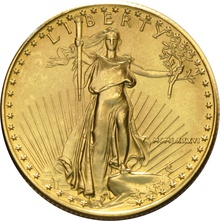1986 Half Ounce Eagle Gold Coin MCMLXXXVI