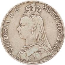 1891 Victoria Jubilee Head Silver Crown