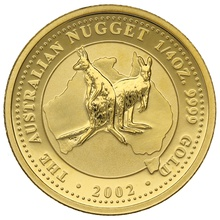 2002 Quarter Ounce Gold Australian Nugget
