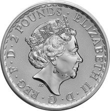 2017 1oz Silver Britannia 20th Anniversary Trident