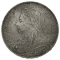 1900 LXIV Queen Victoria Silver Crown
