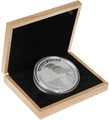 Large Oak Gift Box - 1kg Silver Coin