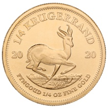 2020 Quarter Ounce Krugerrand Gold Coin