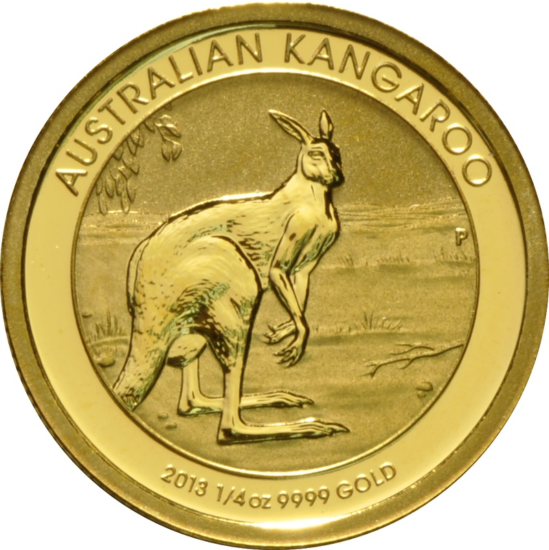 2013 Quarter Ounce Gold Australian Nugget