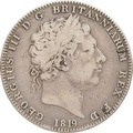 1819 George III Silver Crown