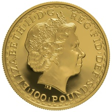 2003 One Ounce Proof Britannia Gold Coin