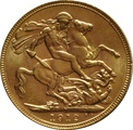 1912 Gold Sovereign - King George V - P