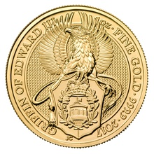 1oz Gold Coin, The Griffin - Queen's Beast