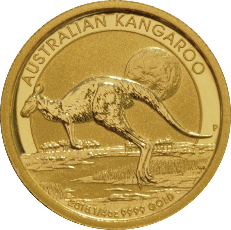 2015 Quarter Ounce Gold Australian Nugget