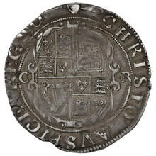 1632-3 Charles I Silver Shilling mm Harp