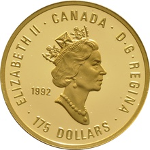 1992 $175 Canadian Gold Proof Coin