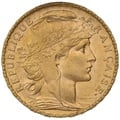 1904 20 French Francs - Marianne Rooster