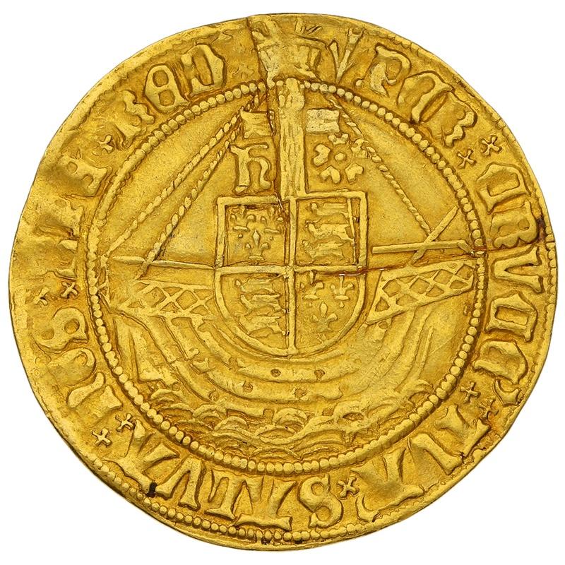 1505-9 Henry VII Hammered Gold Angel