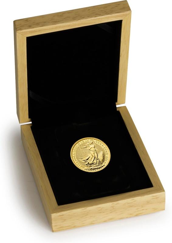 2020 Britannia Half Ounce Gold Coin Gift Boxed