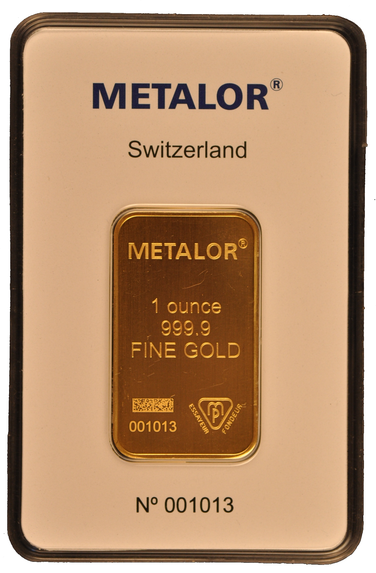 1oz Metalor Gold Bar Bullionbypost From 163 815